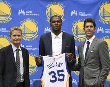 kevin-durant-steve-kerr-bob-myers-nba-golden-state-warriors-press-conference-850x560